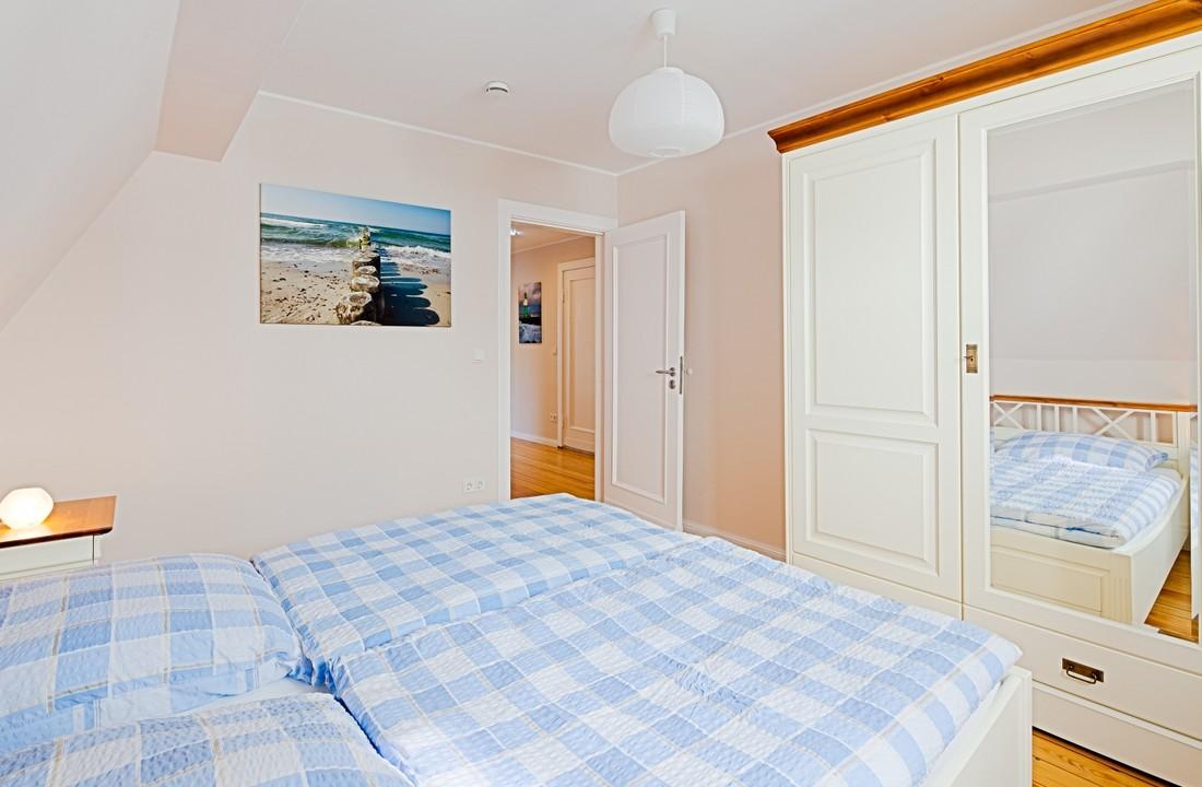 1. Schlafzimmer zur Westseite (ruhiges Schlafen)