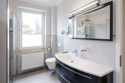 Ostseestrand Badezimmer