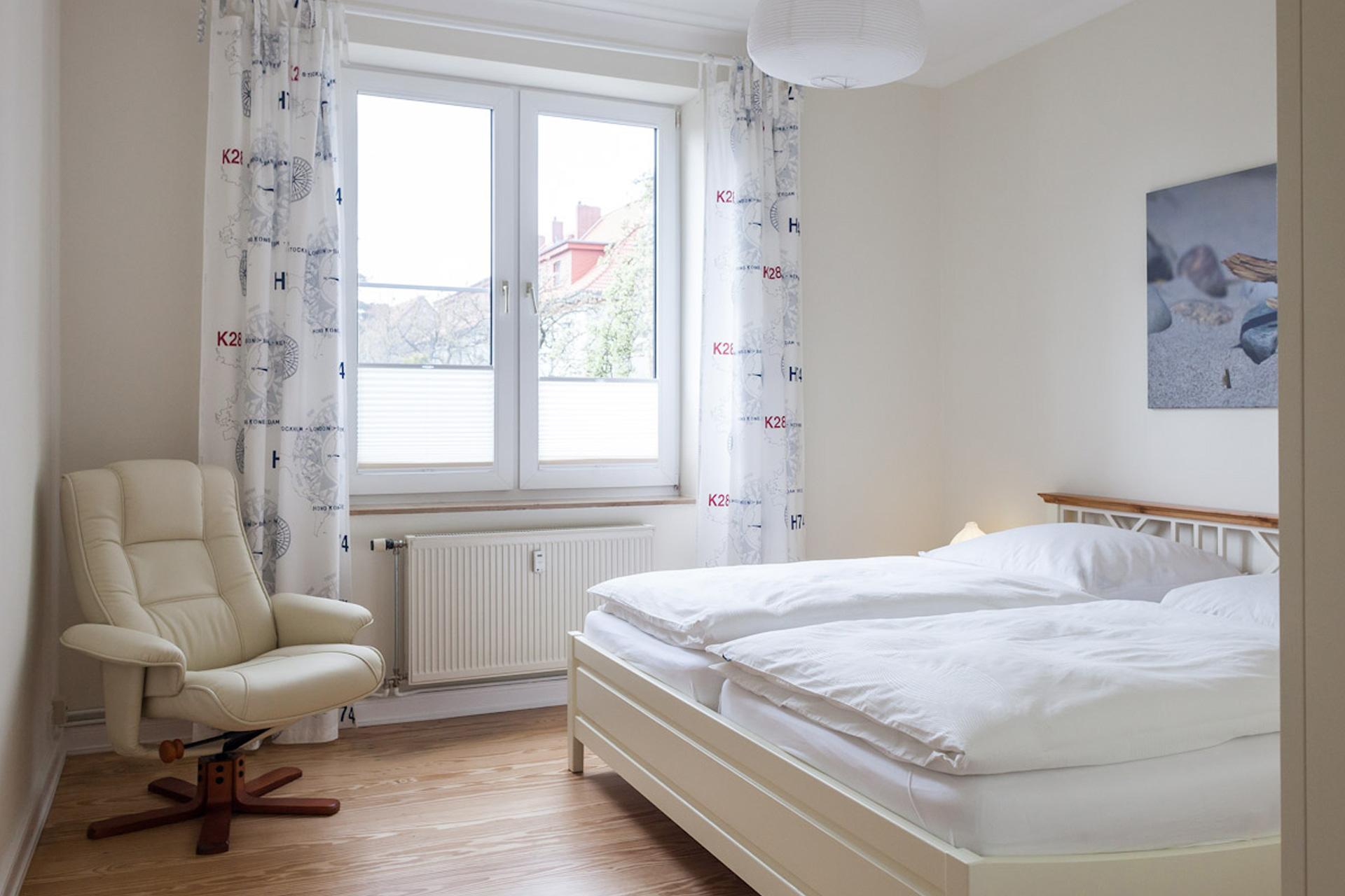 Ostseestrand Schlafzimmer